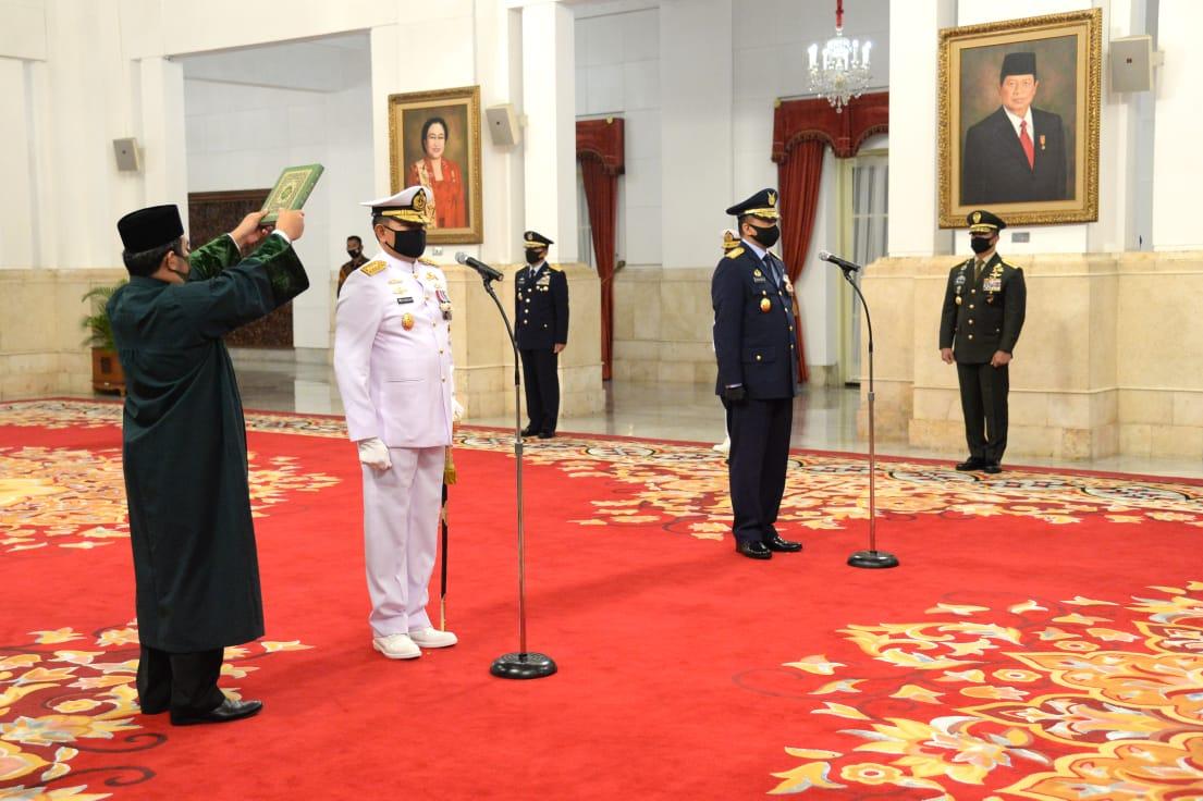 Laksamana Yudo Margono Resmi Jabat KSAL, Marsekal Fadjar Prasetyo ...