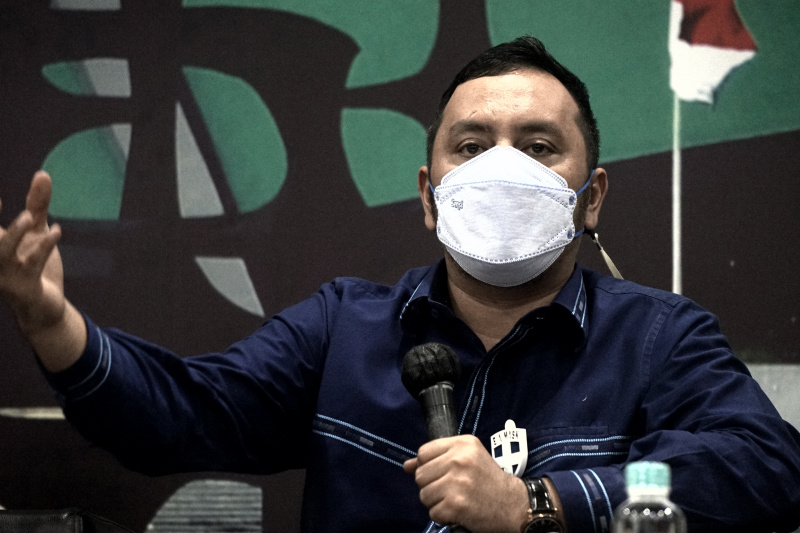 Wakil Ketua Baleg DPR, Willy Aditya. (Foto : Jimmy)